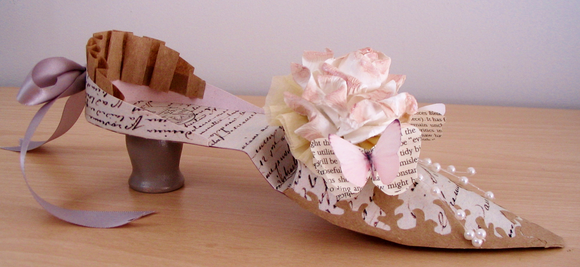 My First Marie Paper Shoe Gustav And Gayle