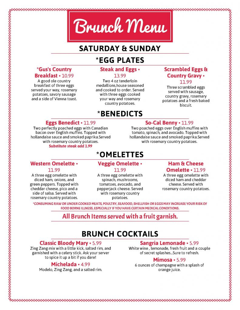 New Brunch Menu_Page_1 - Woodstock, GA