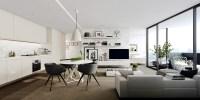 Inspiration : Un studio blanc moderne avec balcon | guten ...