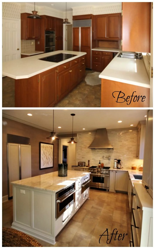 Before & After: Kitchen Renovation