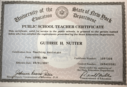 best New York State Education Department Teaching Assistant ...
