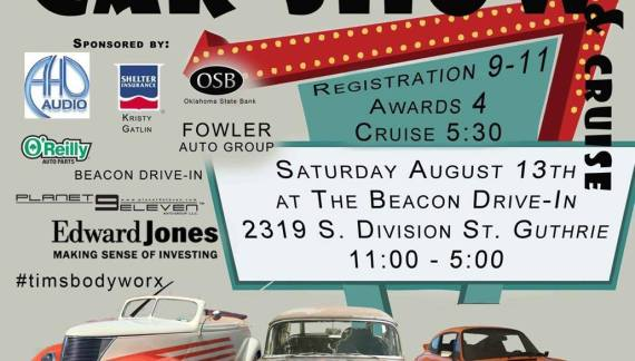 Car show to celebrate 20 years on Aug. 13
