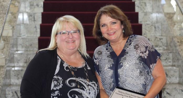 Lori McDougal named Outstanding Victim Witness Coordinator of the Year