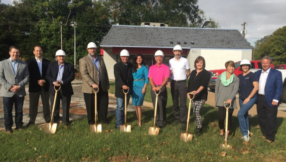 Goodwill holds groundsbreaking ceremony; expected to open in 2017