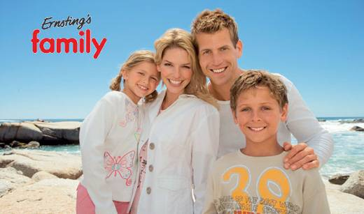 Ernstings Family Reisen Ernstings Family Reisen. Ernstings Family Gutscheincode