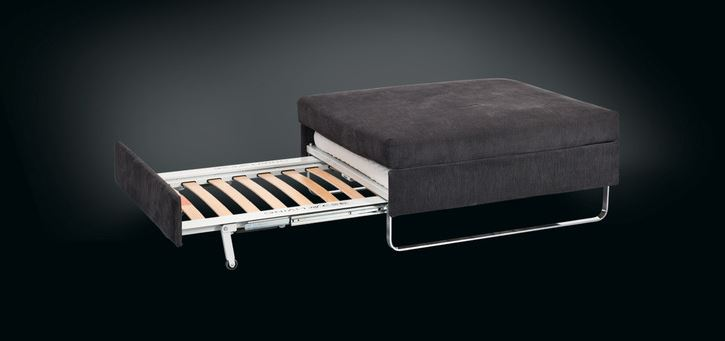 Schlafcouch Leder Hocker Bed For Living