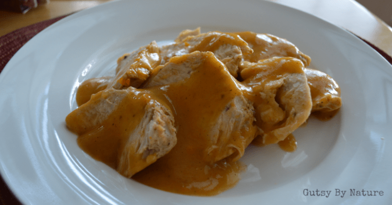 Paleo Turkey Breast with Gravy