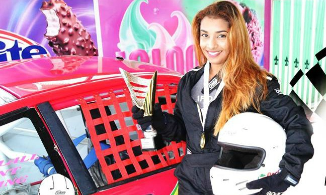 "Sharima  ""Speed Queen"" Khan – Guyana's First Female Race Car Driver"