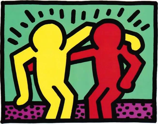 Pop Shop I Best Buddies Keith Haring - Guy Hepner