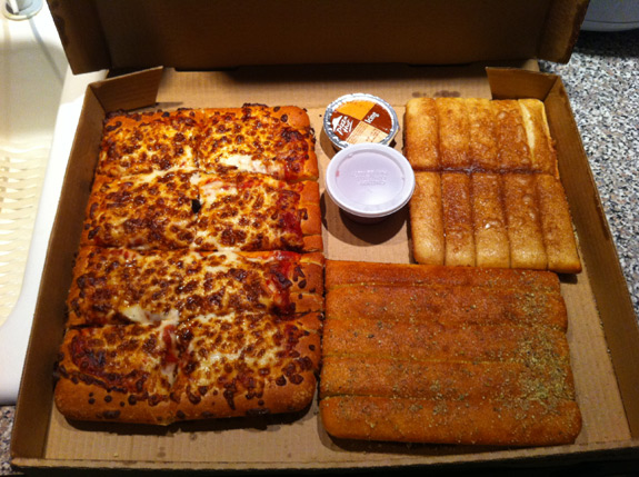 Review Pizza Hut\u0027s $10 Dinner Box