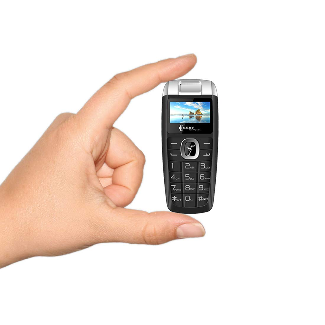 Worlds Smallest Dual Sim Mini Mobile Phone Guys World - Mobiles Mini Waschbecken