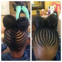 Braided hairstyles for children