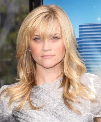 Fringe hairstyles for long hair