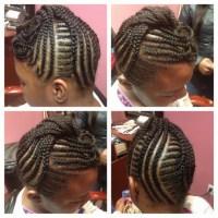 Braids Natural Hair For Black Kids Pinterest | Short ...