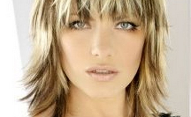 Wispy Bob With Bangs Picture   LONG HAIRSTYLES