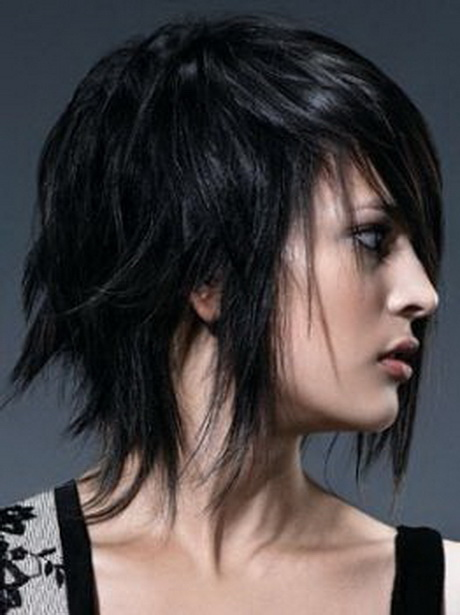 Wallpaper Emo Girl Style Medium Punk Hairstyles