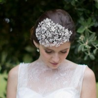 Vintage wedding hair pieces