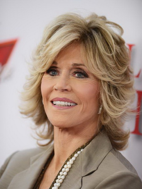Hairstyles For Curly Hair For Prom Hairstyles Jane Fonda