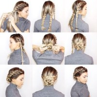 Easy way to braid hair