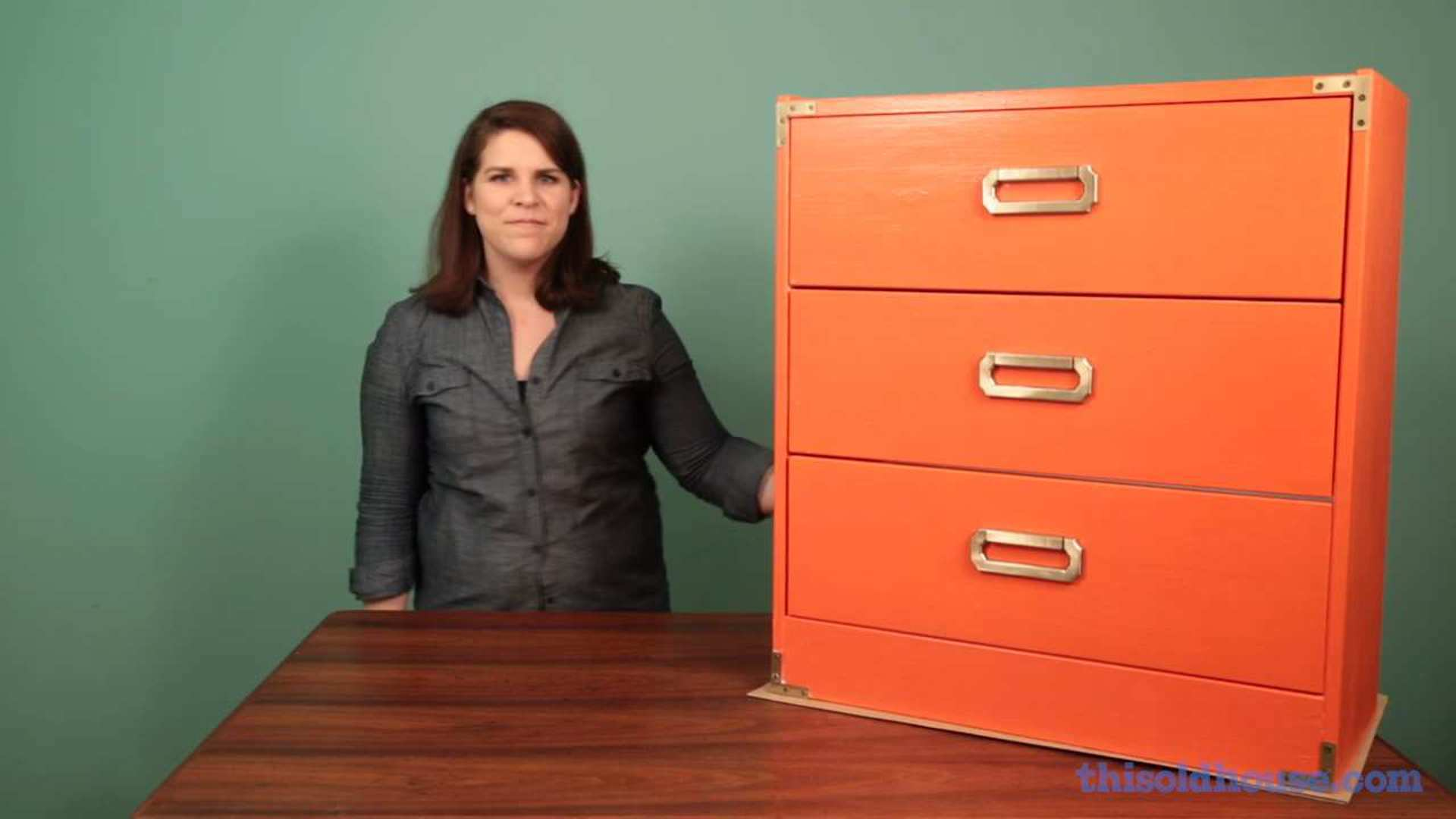 How To Make A Campaign Style Dresser This Old House