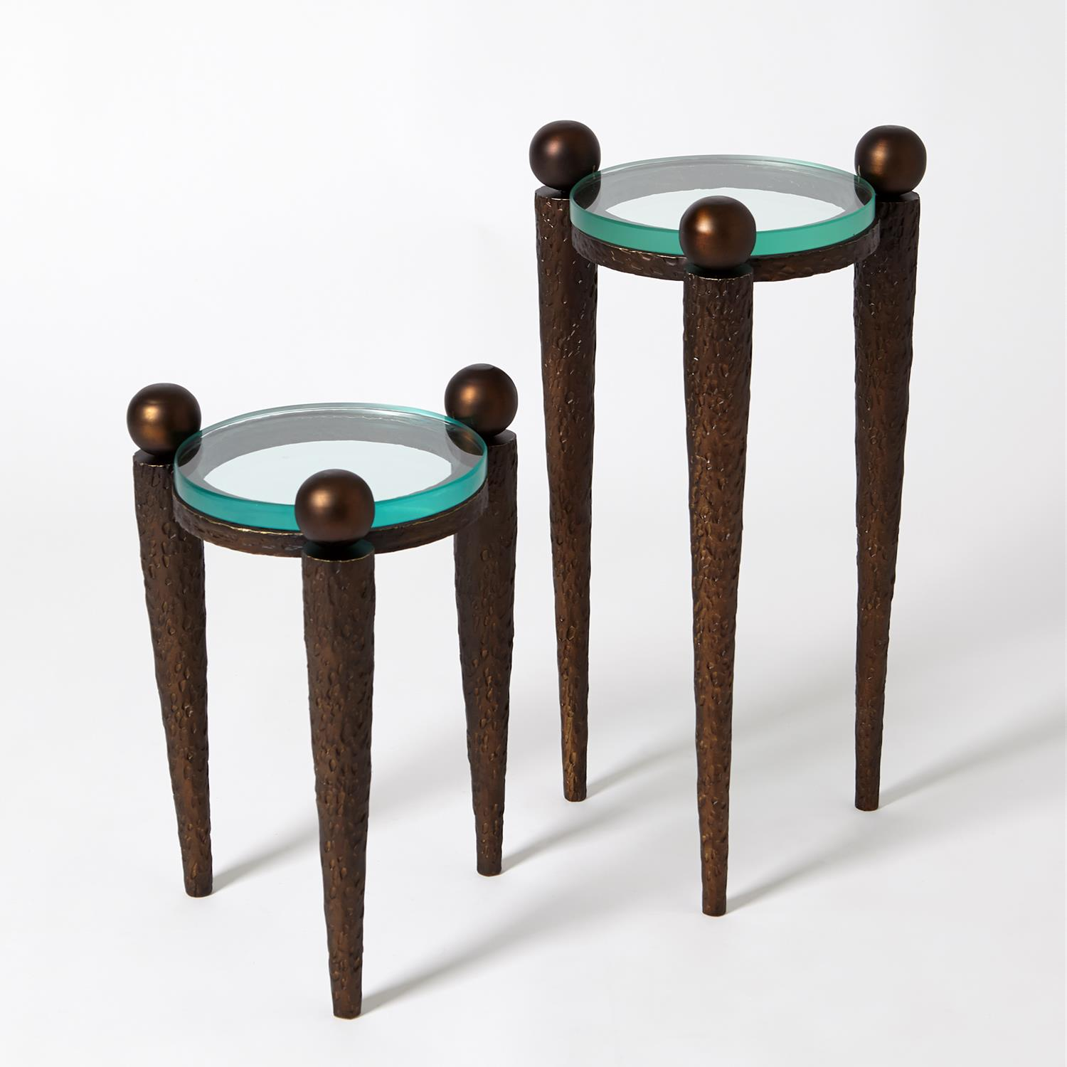 Rock On Accent Table Bronze