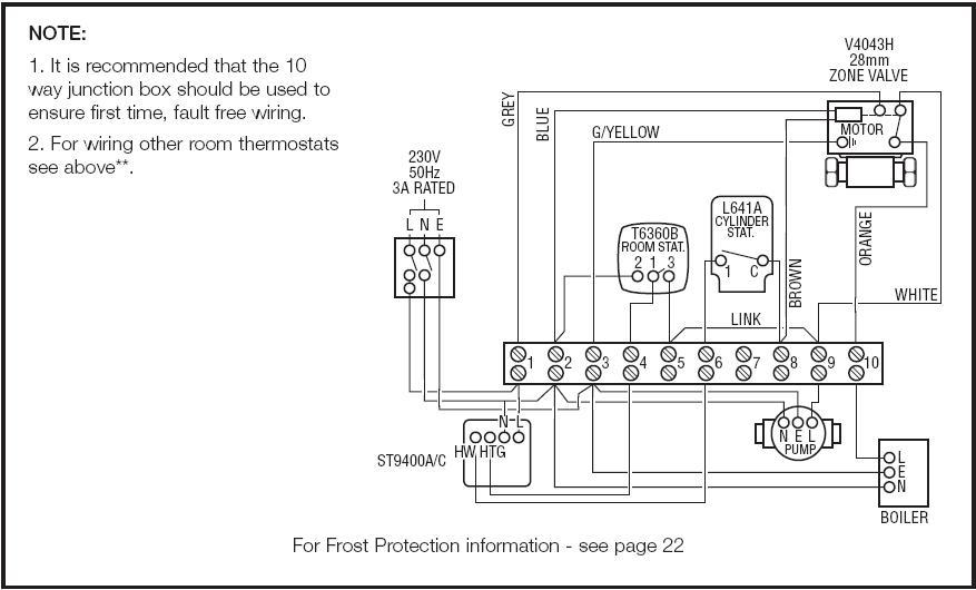 danfoss room thermostat wiring diagram