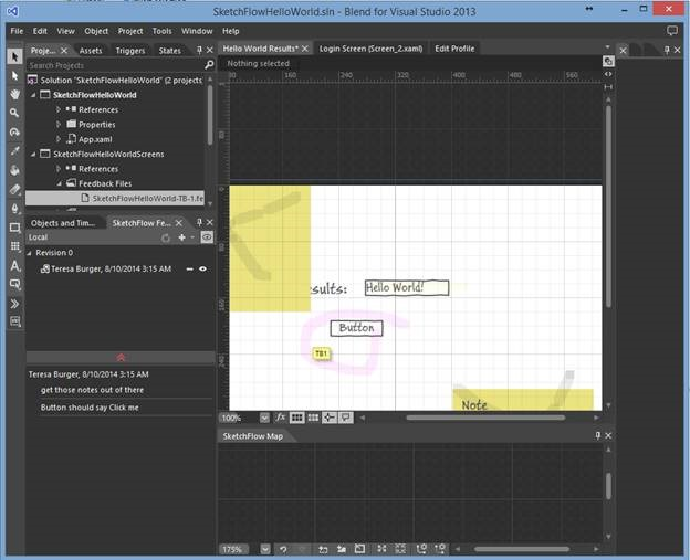Blend for Visual Studio 2013 Prototyping Applications with SketchFlow