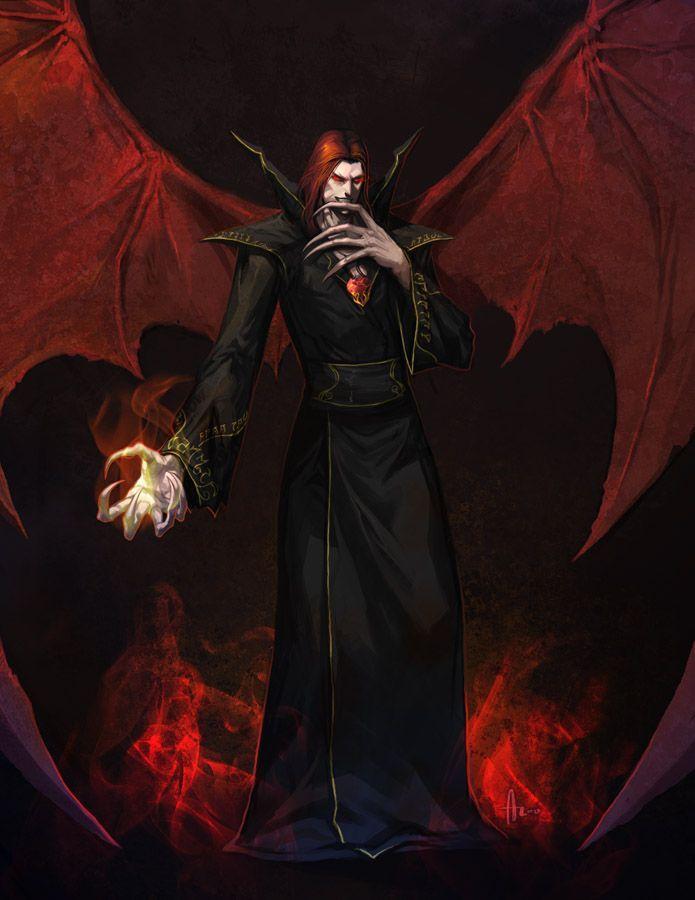 Red Dragon Girl Wallpaper Mage Noir