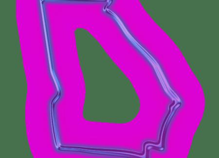 113455-glowing-purple-neon-icon-culture-state-georgia