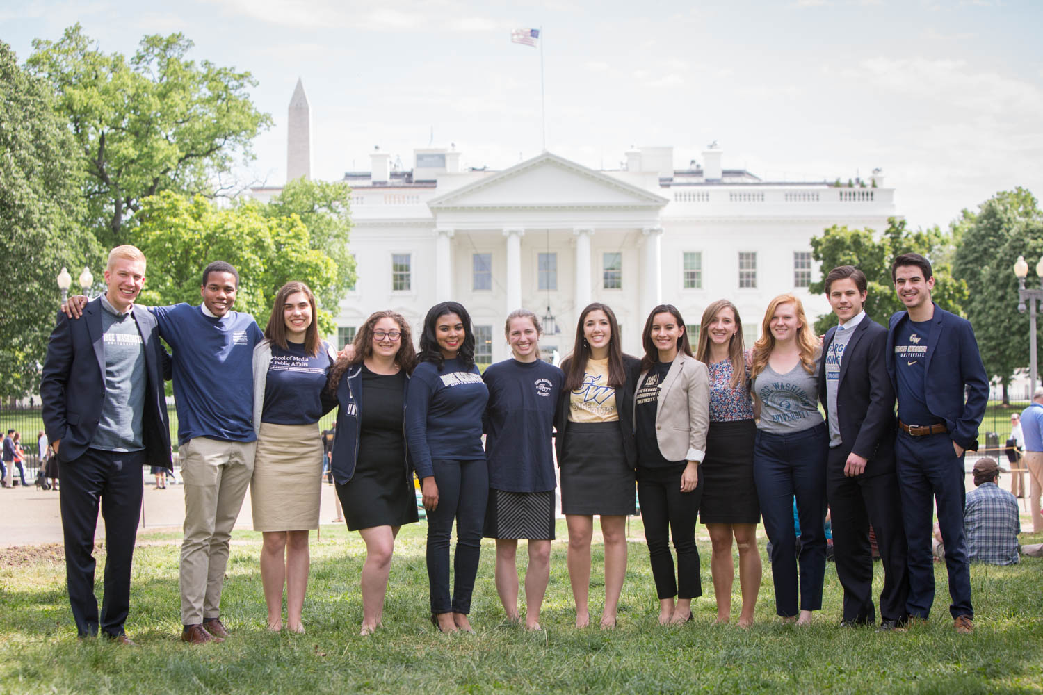 Weite Hose Sommer Interning At The White House | Gw Today | The George
