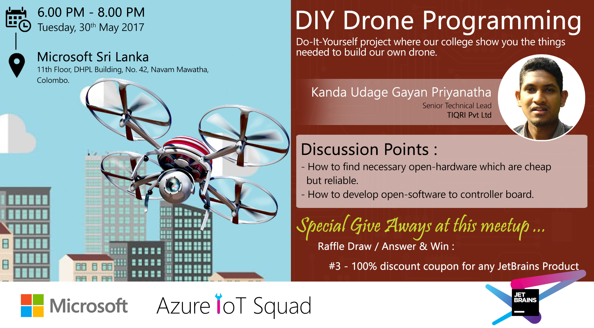 Diy Drone Software Diy Drone Programming By Auzre Iot Squad Microsoft Tech
