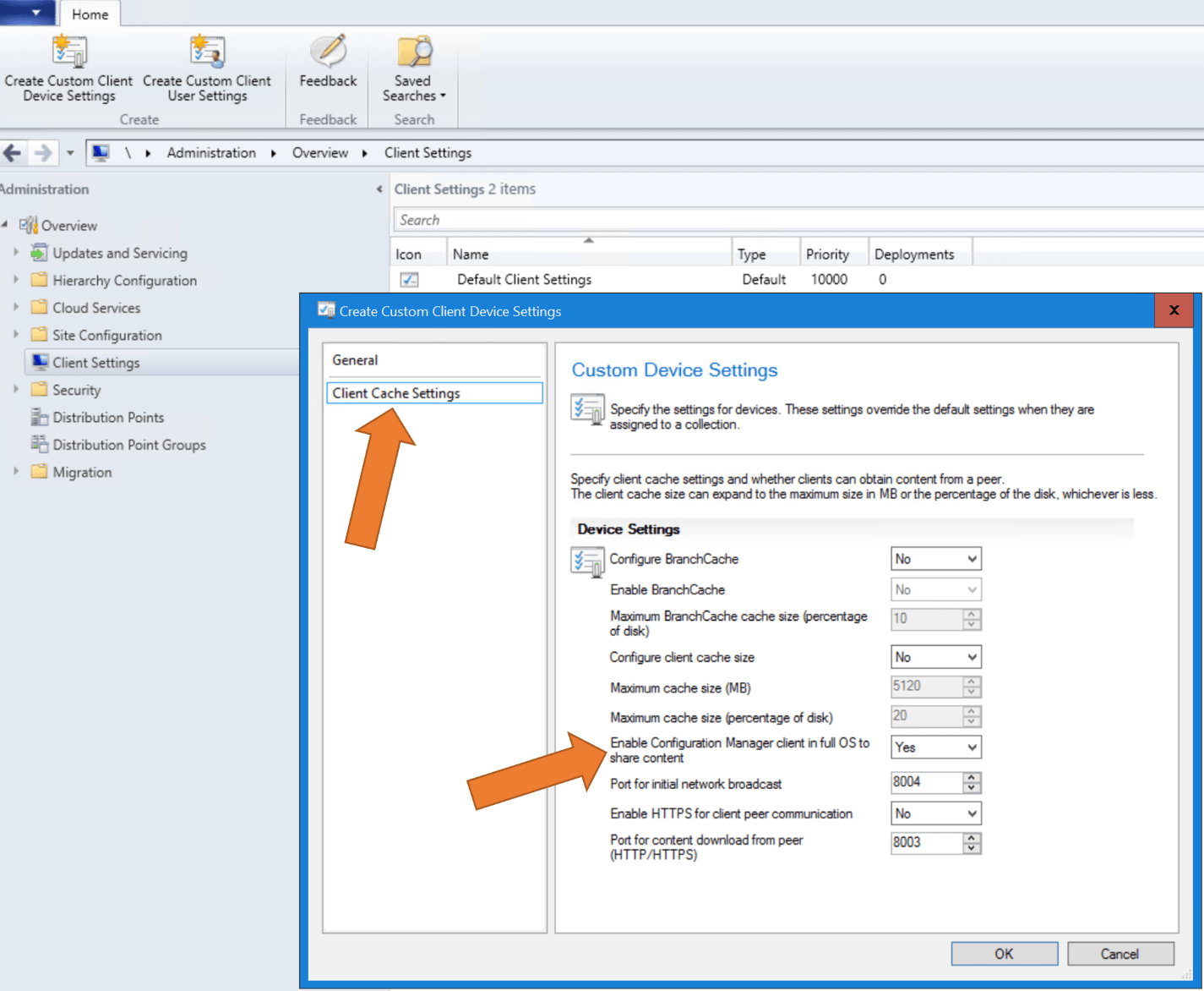 Office 365 Pro Plus Configure Peer Cache In Configuration Manager To Help You