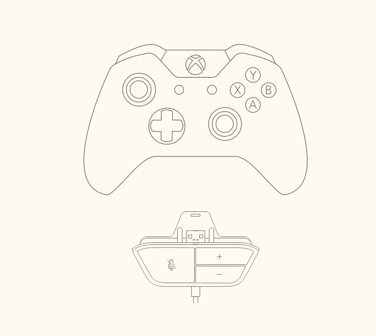 xbox one headset diagrama de cableado