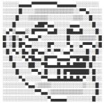 Troll Face Text