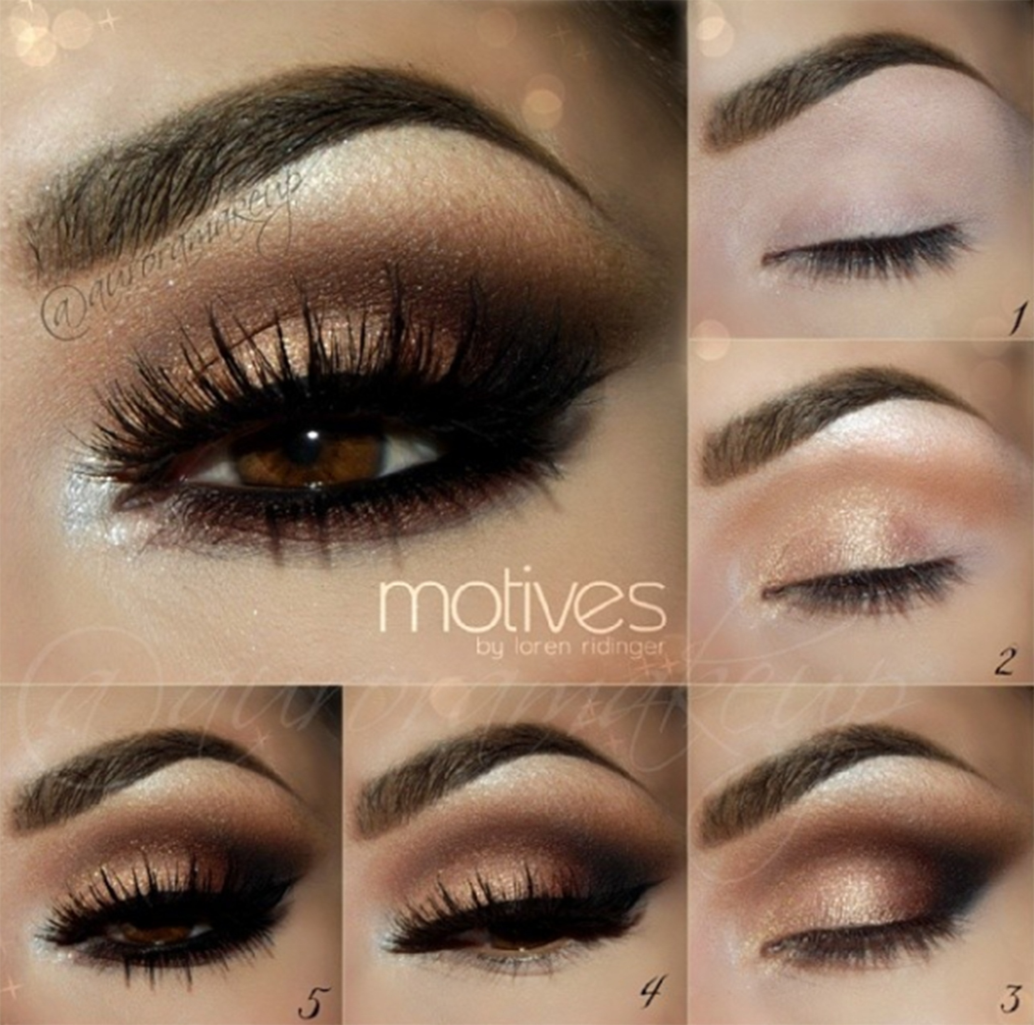 Smokey Eyes Makeup 5 Step By Step Smokey Eye Makeup Tutorials For Beginners