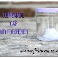DIY Homemade Car Air Freshener