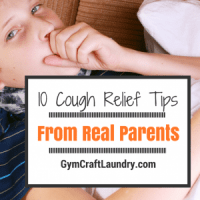 10 Cough Relief tips from other parents!