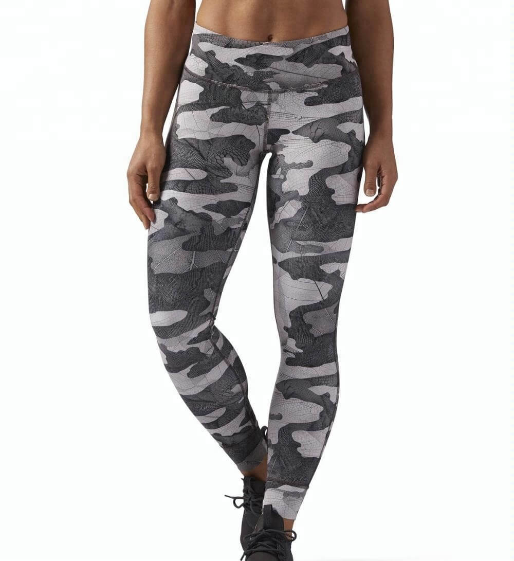 Wholesale Tights Manufacturers Wholesale Neutral Toned Camo Print Custom Leggings