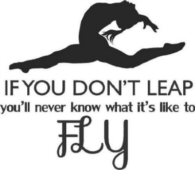 if you dont leap quote