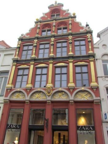 Flemish architecture in Brugge