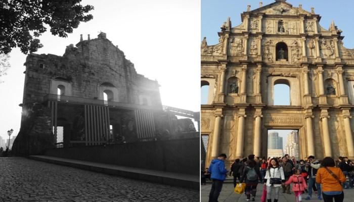 Ruins of St Paul, UNESCO World Heritage Site, Macau