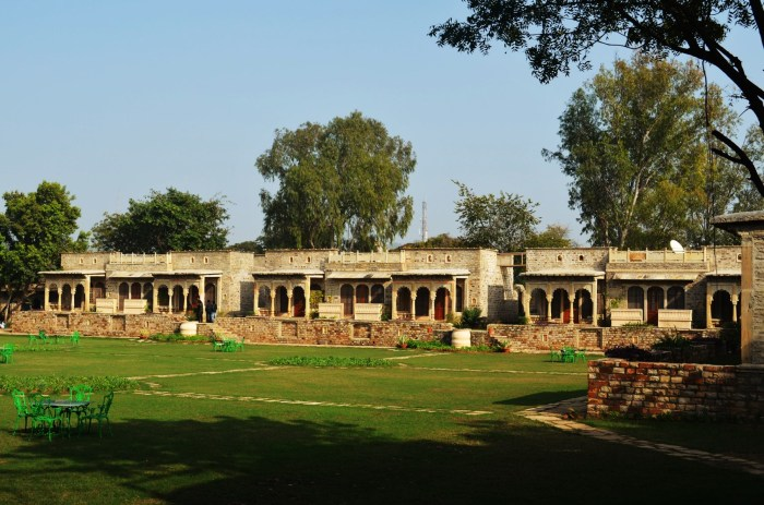 View of the Nav-Bagh, 15 rooms from Deo-Bagh Restaurant