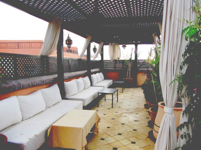 Terrace @ Riad la Croix Berbere