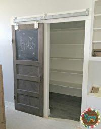 Sliding Glass Pantry Doors
