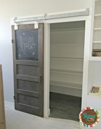 Sliding Glass Pantry Doors