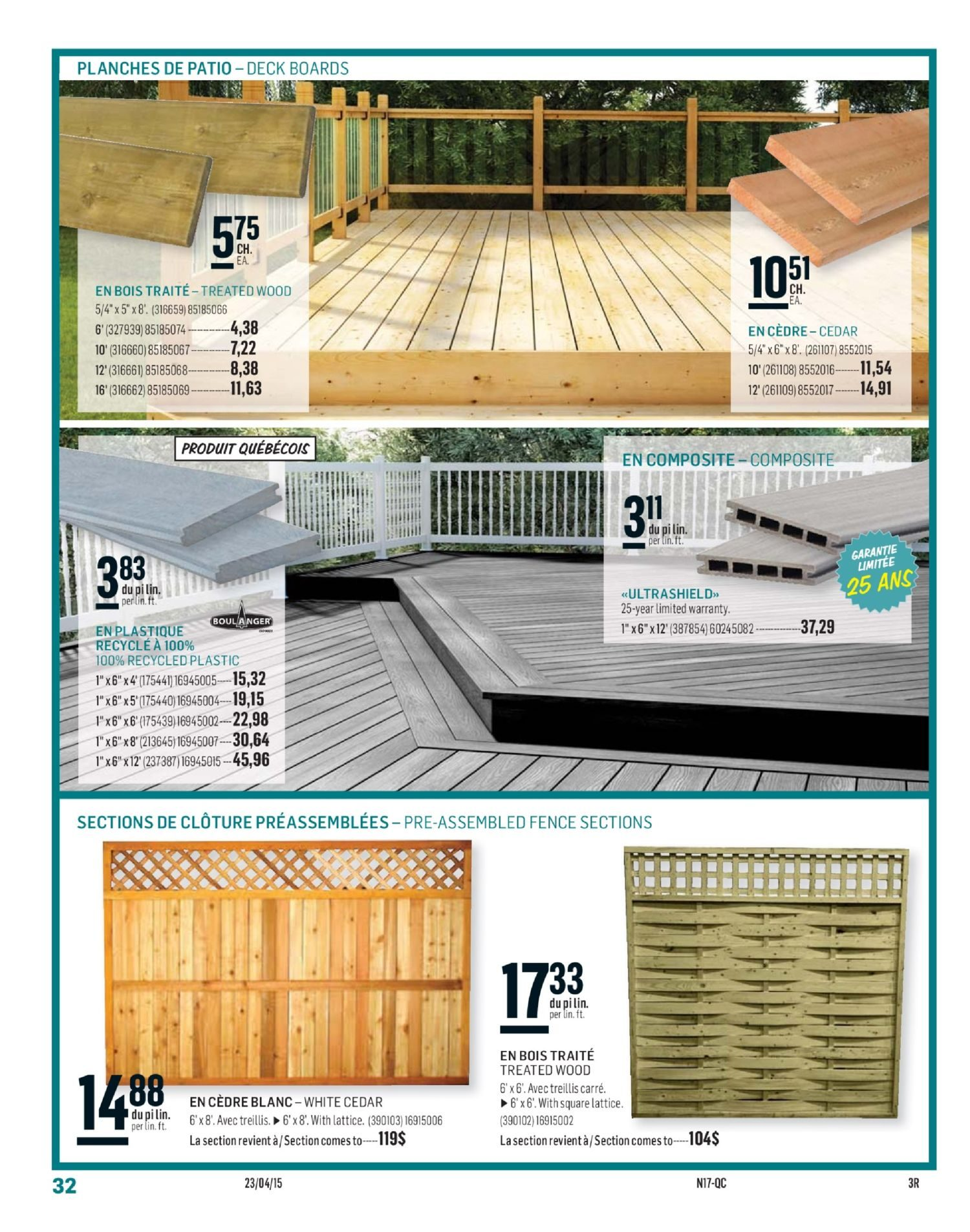Porte Interieur Reno Depot Reno Depot Weekly Flyer 2 Semaines Circulaire Apr 23 May 6