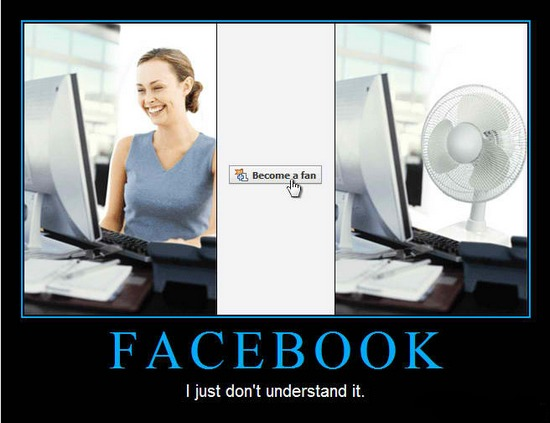 facebook - become a fan