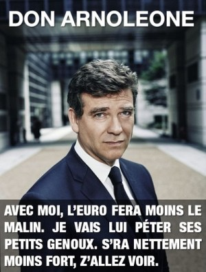 montebourg is arnoleone