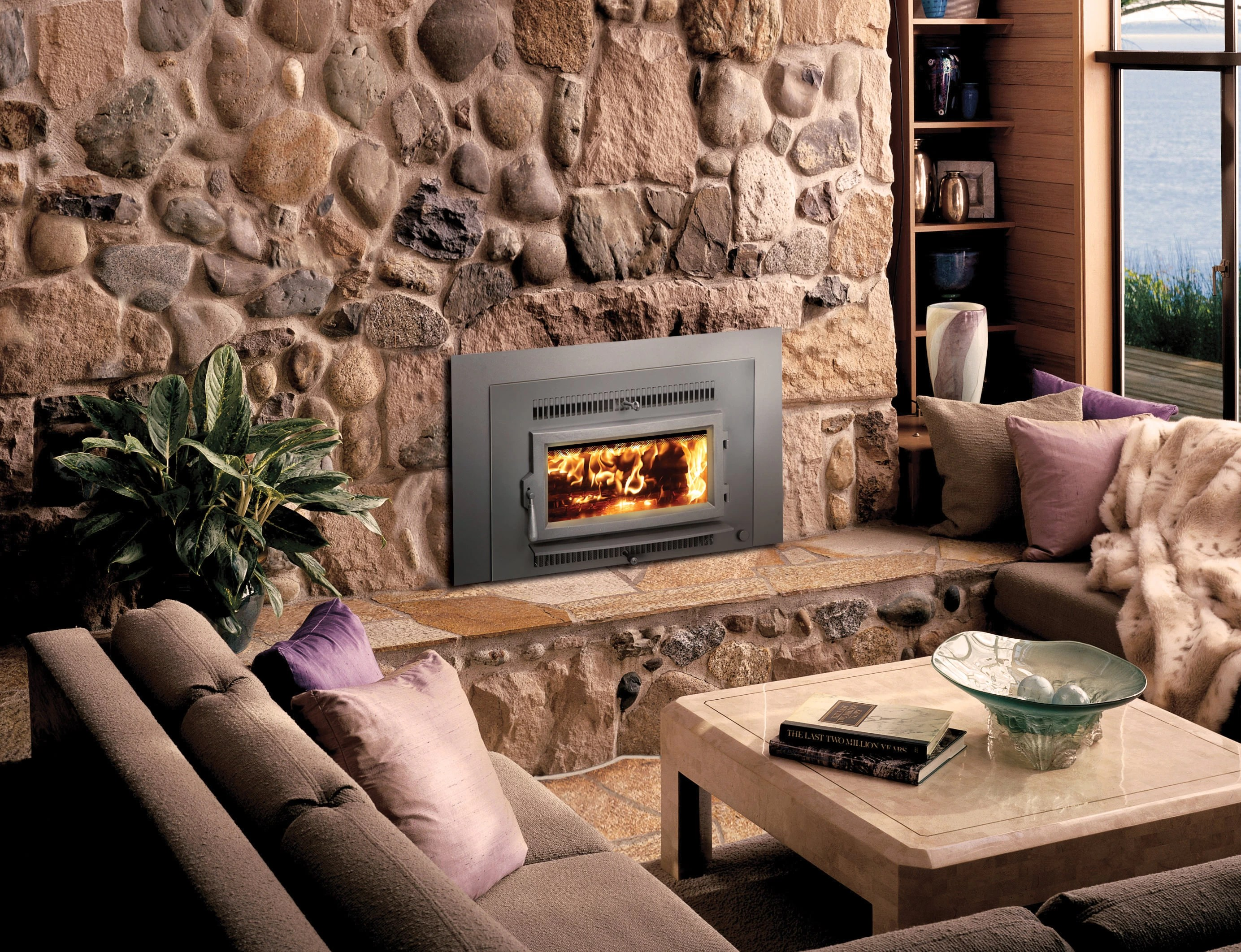 Avalon Gas Fireplace Inserts Avalon Small Flush Hybrid Fyre Wood Insert H2oasis
