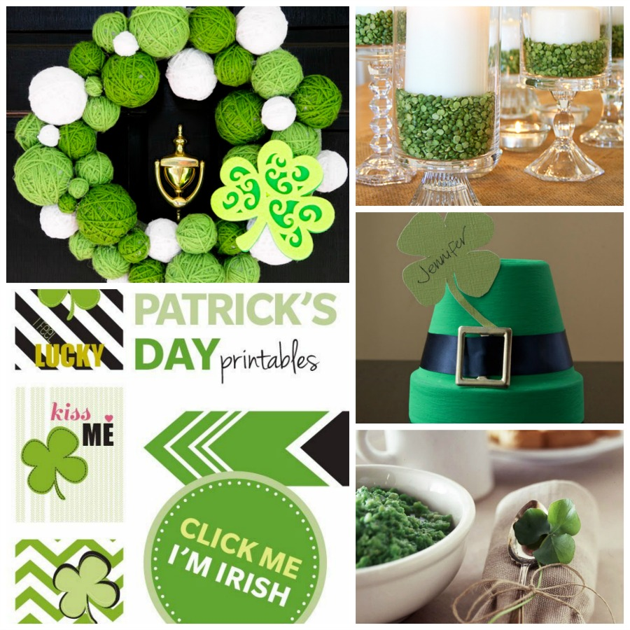 Saint patricks day ideas and inspiration h20bungalow for Decoration saint patrick